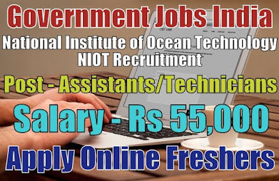 NIOT Recruitment 2019