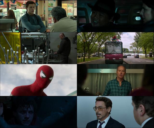 Spider Man Homecoming 2017 Dual Audio 1080p BluRay