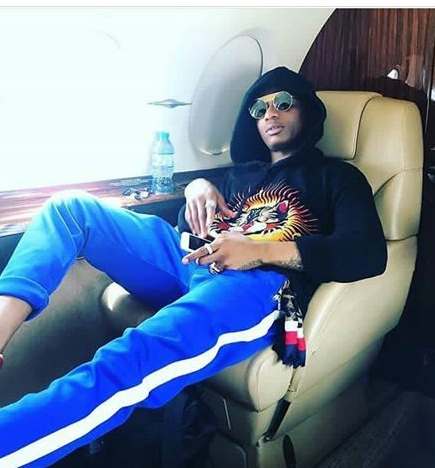 Wizkid Jets Out To London In Style, Uses A  Private Jet