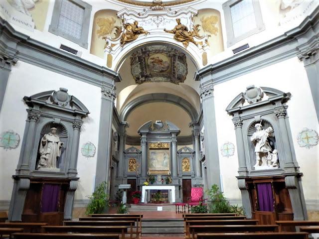 interno chiesa santissima annunziata