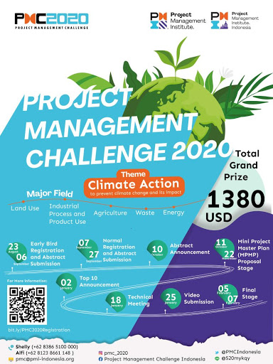 PROJECT MANAGEMENT CHALLENGE 2020: CLIMATE ACTION to prevent climate change and its impact
