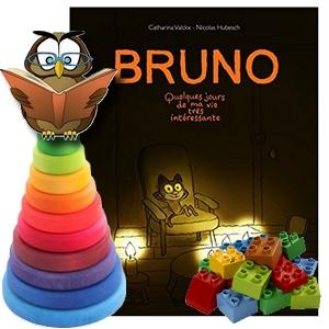 Catharina Valckx Bruno Billy album jeunesse Pû Michou poney chat jour blog avis critique enfants lecture