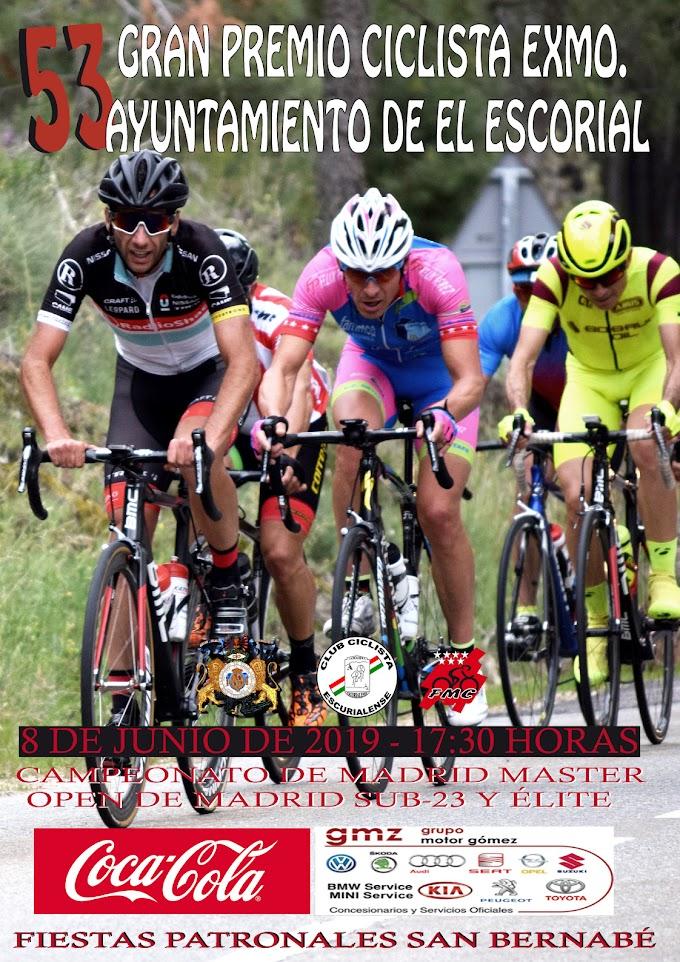 Los mejores ciclistas Másters disputaran el Campeonato de Madrid en El Escorial este sábado