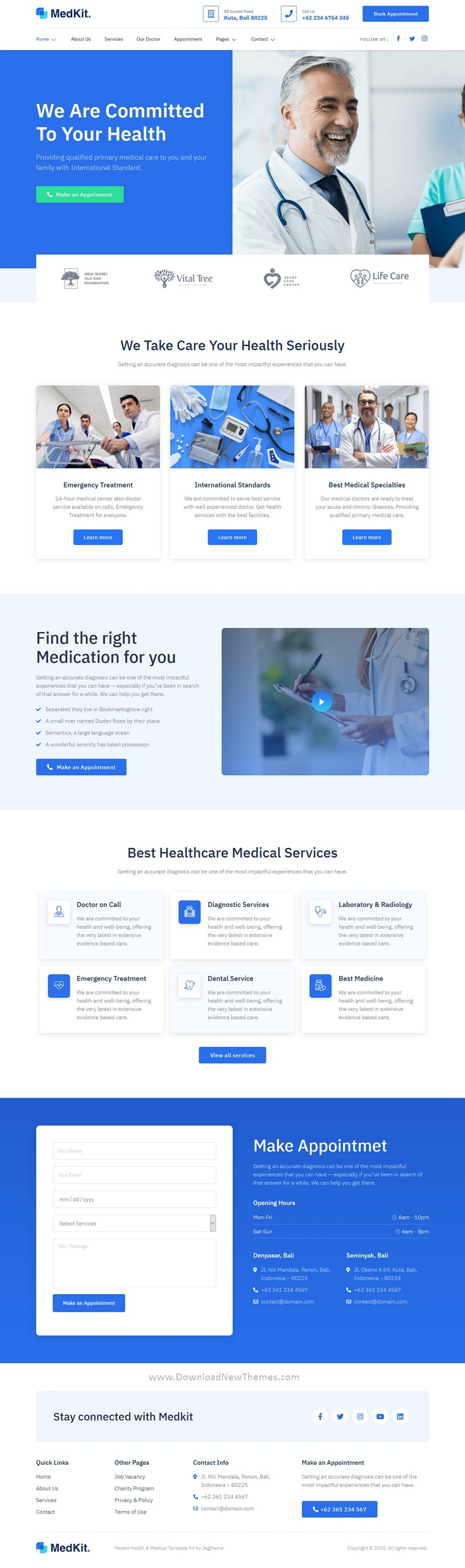 Health & Medical Elementor Template Kit