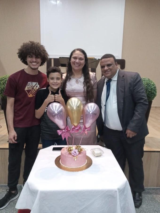Despedida do pastor Ivo Lucio em ADSA Brasil Grajaú