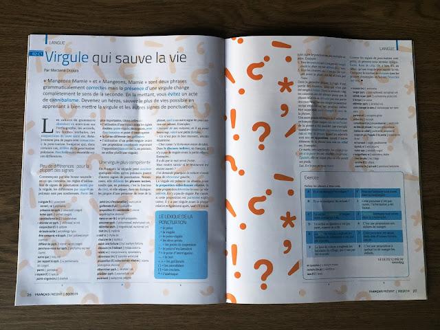 """""""Français Présent 50/2019"""" - przykładowy artykuł - Francuski przy kawie"""