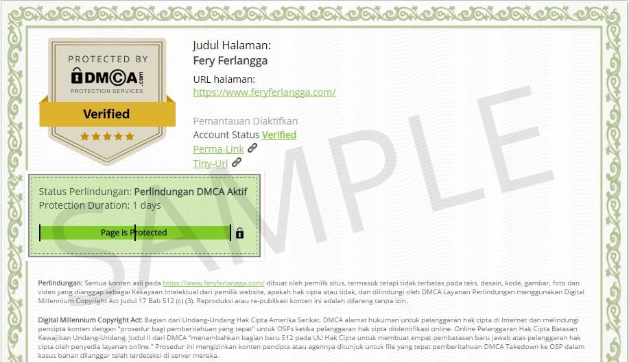 DMCA Fery Ferlangga