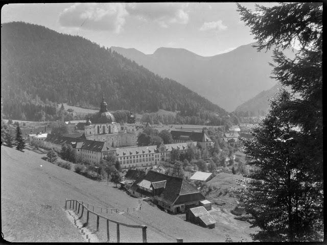 Kloster Ettal um 1930