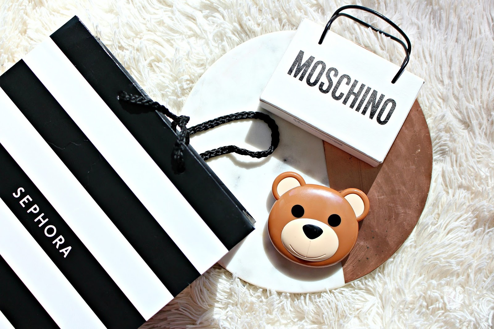 Moschino Sephora Collection Shopping Bag Mini Palette Swatches