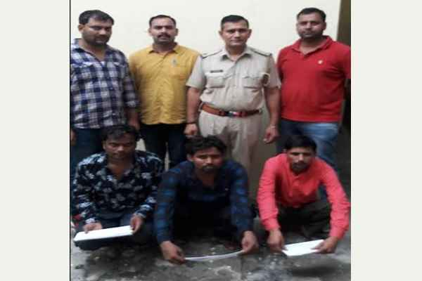 faridabad-sector-48-crime-branch-arrested-3-accused-chain-snatching-gang