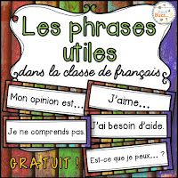 https://www.teacherspayteachers.com/Product/Les-phrases-utiles-dans-la-classe-de-francais-Rentree-French-Back-to-School-2789592