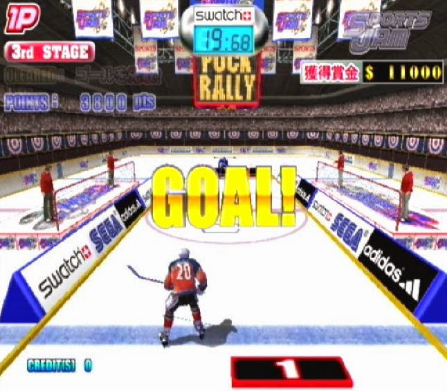 Sports Jam Hockey