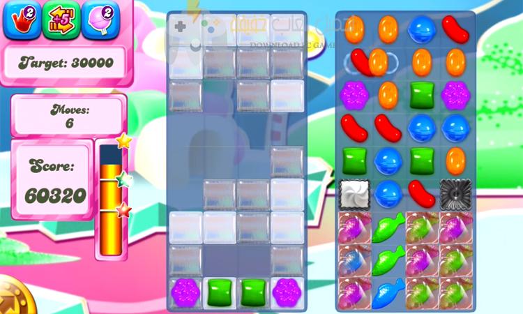 تحميل لعبة كاندي كراش Candy Crush Saga للكمبيوتر