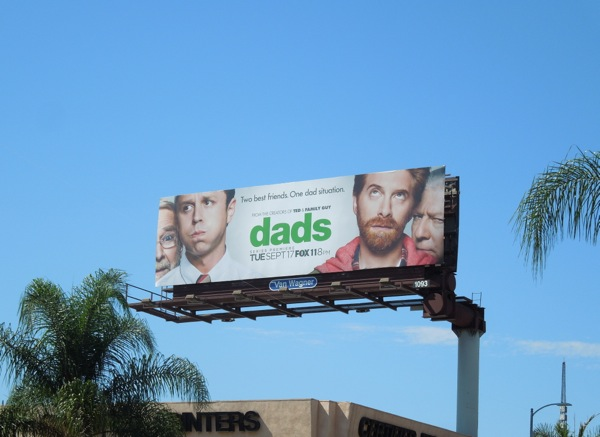 Dads season 1 sitcom billboard