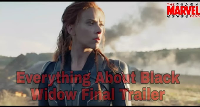Everything about Marvel Black Widow Final Trailer