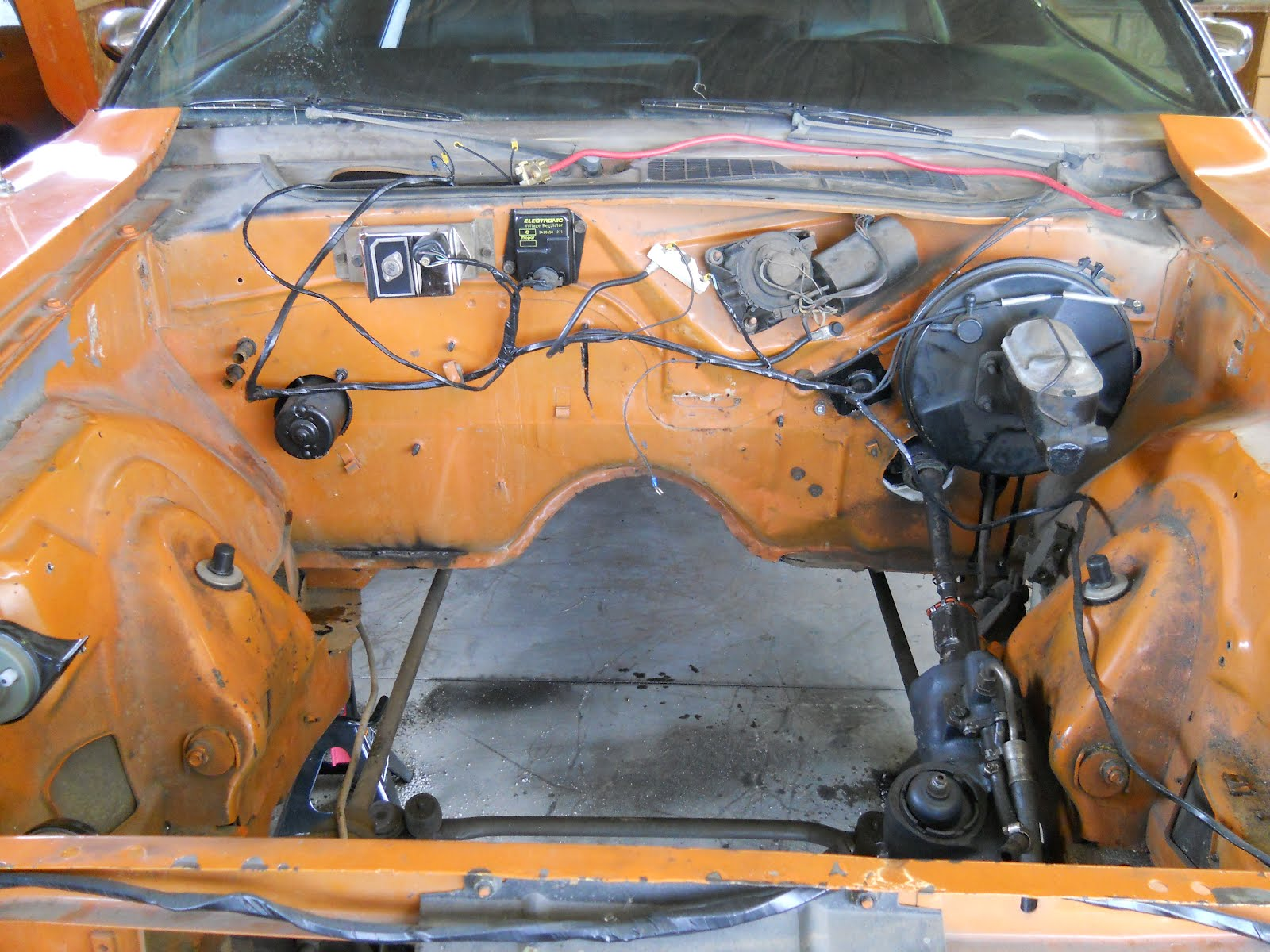 1972 dodge dart wiring diagram opel astra g 1998 motor city muscle: work on dad's 1970 challenger r/t
