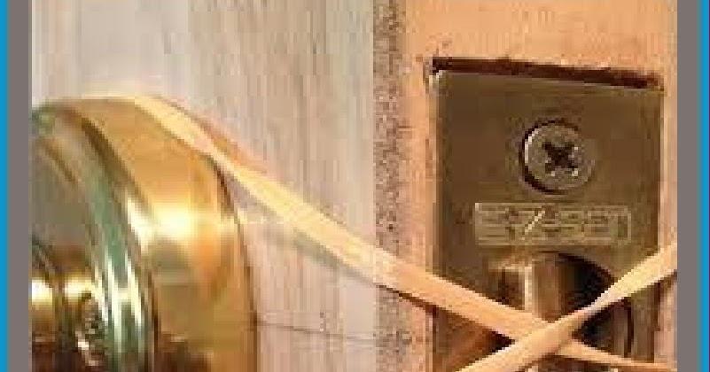 Diy And Household Tips Door Lock Hack