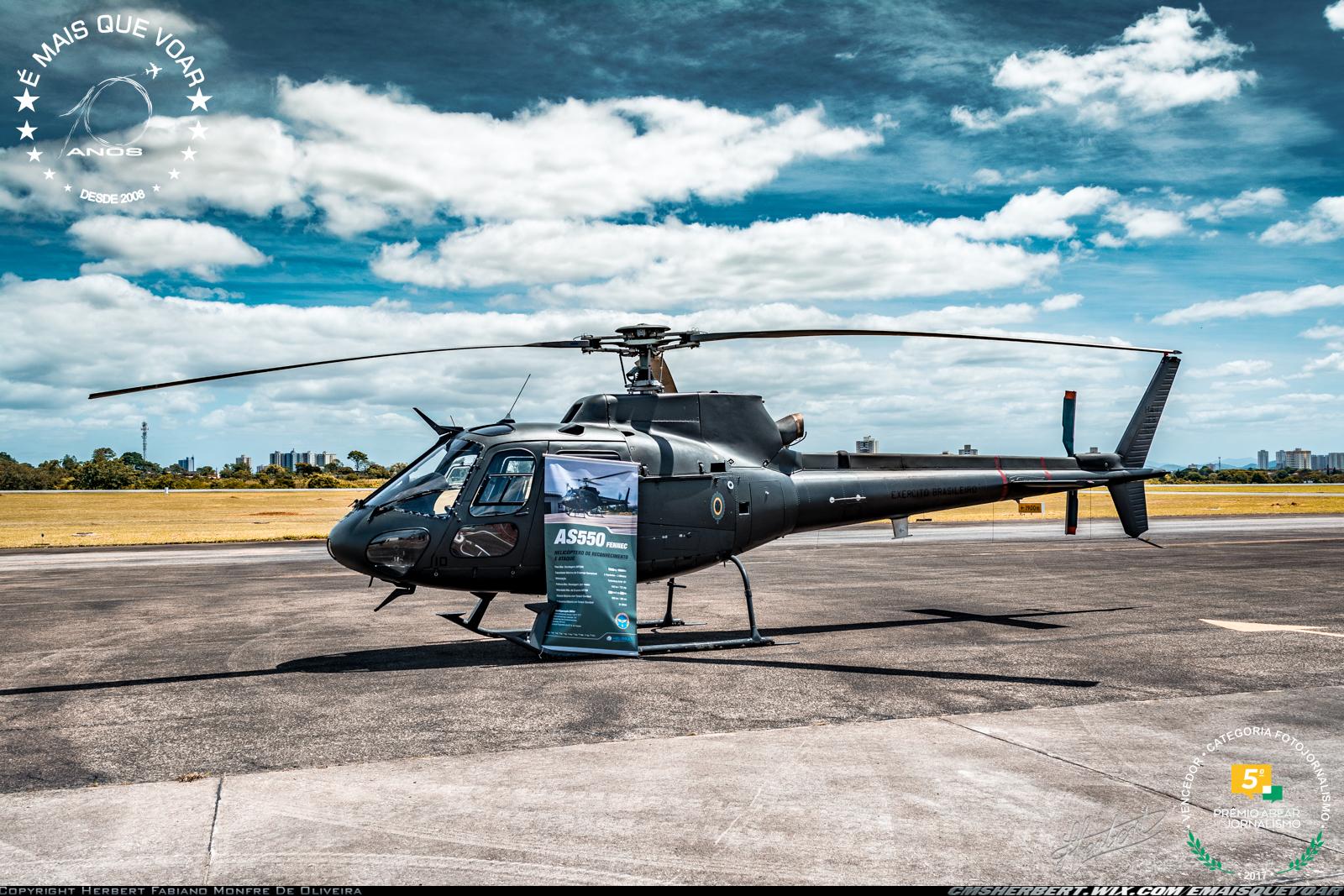 Exército Brasileiro recebeu o 25º helicóptero Fennec | Foto © Herbert Monfre - Contrate o fotografo via e-mail em: cmsherbert@hotmail.com |  É MAIS QUE VOAR