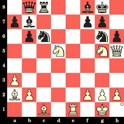 Les Blancs jouent et matent en 4 coups - Garry Kasparov vs Bent Larsen, Bruxelles, 1987