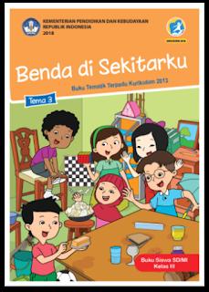 download gratis buku tematik kelas 3 tema 3