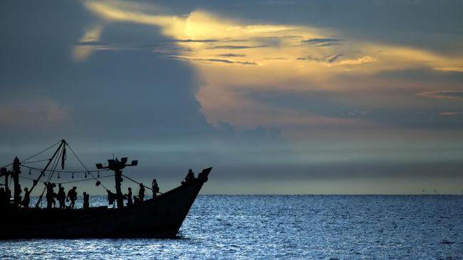 Kapal Rohingya Kembali Terpantau di Selat Malaka
