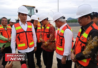 Peresmian TPA Regional Banjar Bakula oleh Presiden Jokowi