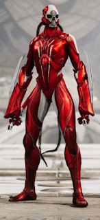 Kallari red death skin rojo letal