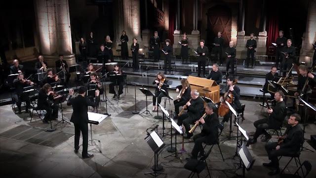 « Oratorios Pâques et Ascension » de Bach joué par Le Banquet Céleste - Capture d'écran de la vidéo