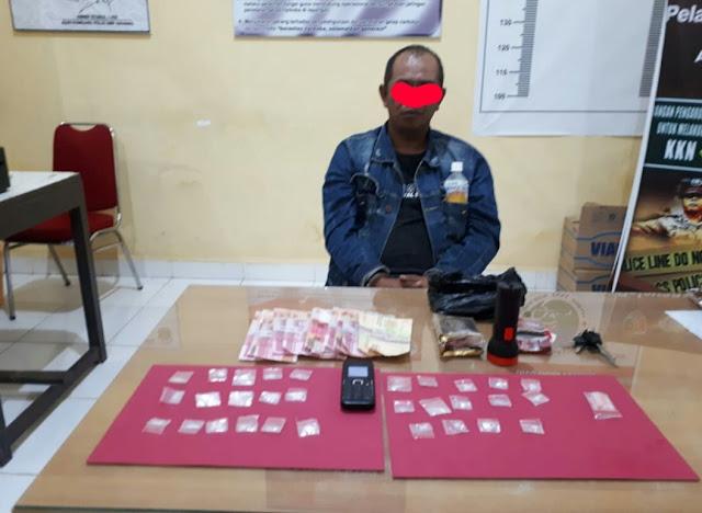 Polisi Tangkap Dua Pengedar Narkoba di Toraja Utara, 30 Sachet Shabu Siap Edar Diamankan