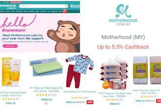 5 barangan keperluaan anak-anak di Motherhood anda boleh dapat pulangan tunai melalui Octaplus