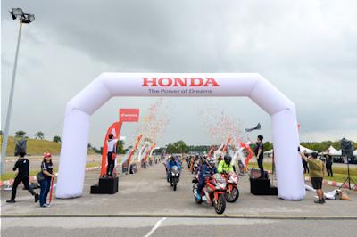 Honda Kicks Off 'Honda Asian Journey 2019', a Big Bike Cruise Through Malaysia to the MotoGP Race