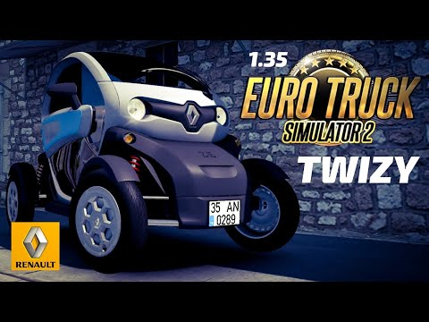 Euro Truck Simulator 2 Renault Twizy Araba