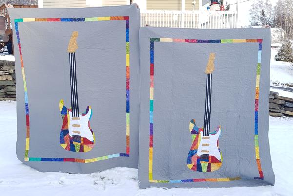 Rock Concert quilt | DevotedQuilter.com