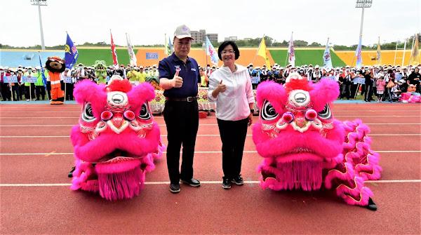 彰化縣勞資運動大會暨園遊會 運動健身做愛心