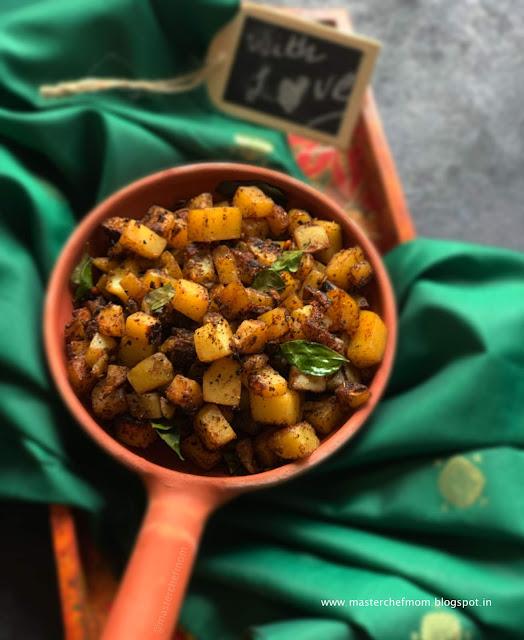 Potato Curry |Cut Aloo Kari Recipe