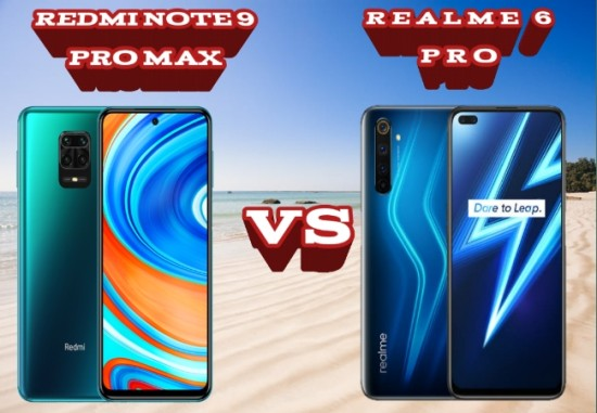 REDMI NOTE 9 PRO MAX VS REALME 6 PRO: How much difference between the two phones?