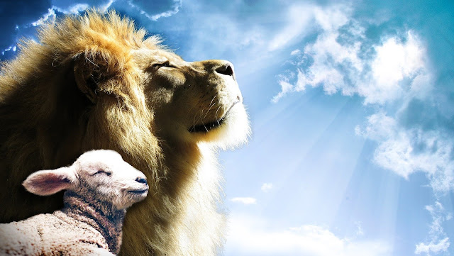 Jesus, The Lion And The Lamb, Living From Glory To Glory Blog...