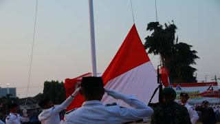 upacara bendera, memperingati HUT RI