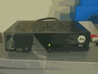 Leaked images of Jio DTH