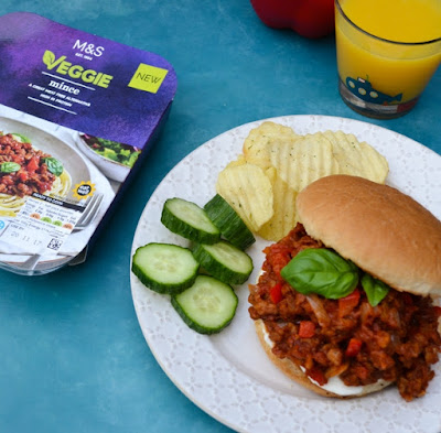 Vegan sloppy joes made with fresh M&S veggie mince