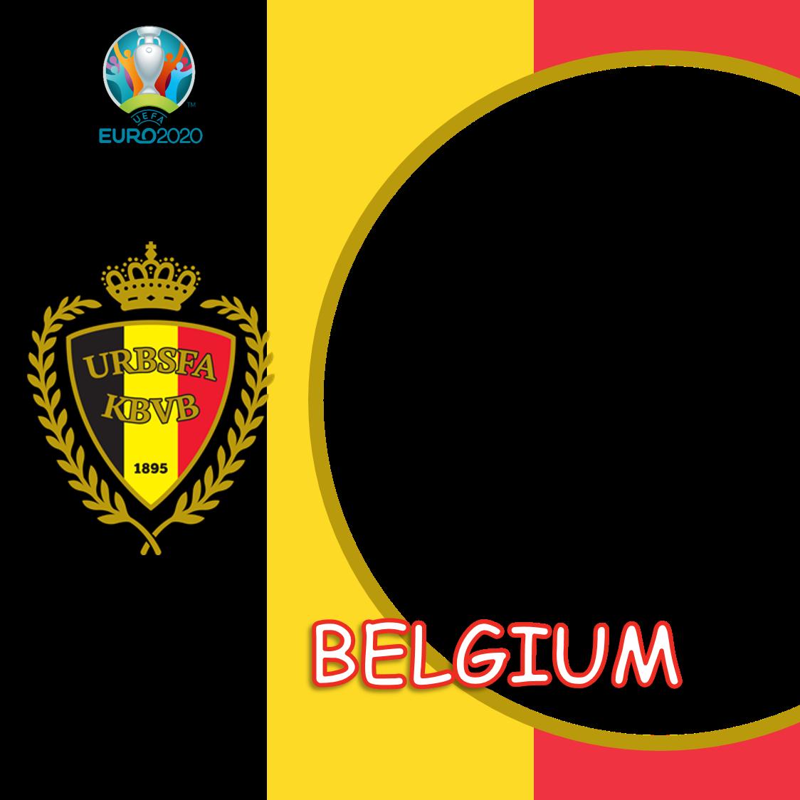 Link Frame Bingkai Foto Twibbon Belgia Euro 2020 - Belgium Euro 2021