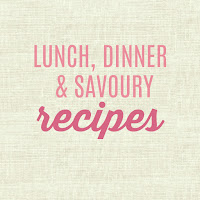 Gluten Free Lunch Dinner and Savoury Recipes