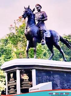 Kapolri Listyo Sigit Resmikan Monumen Perjuangan Dan Bhakti Pahlawan Nasional Komjen Pol Dr M.Jasin di AKPOL Semarang