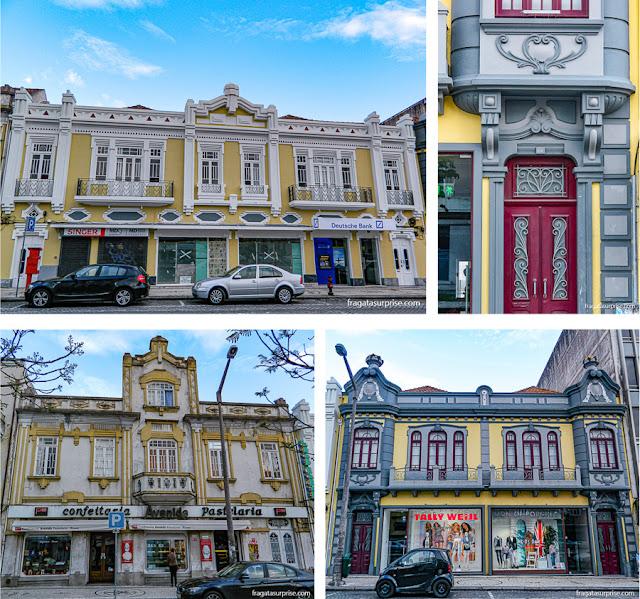 Construções Art Nouveau em Aveiro, Portugal