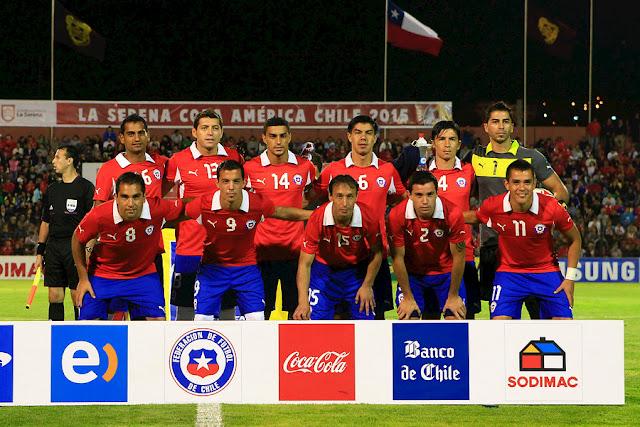 Formación de Chile ante Senegal, amistoso disputado el 15 de enero de 2013