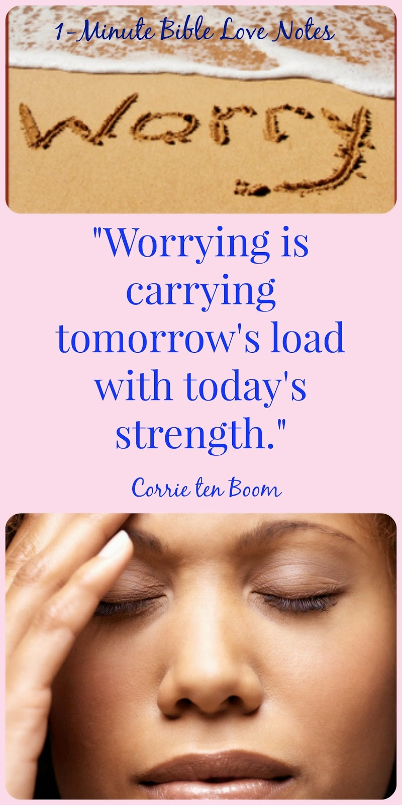 worry, don't worry about tomorrow, Matthew 6:34