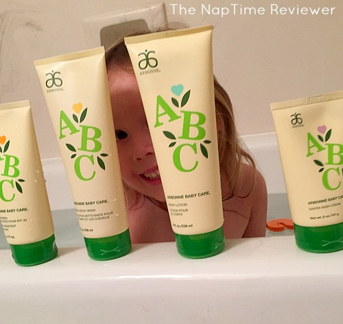 New Natural Baby Skincare Products From Arbonne The