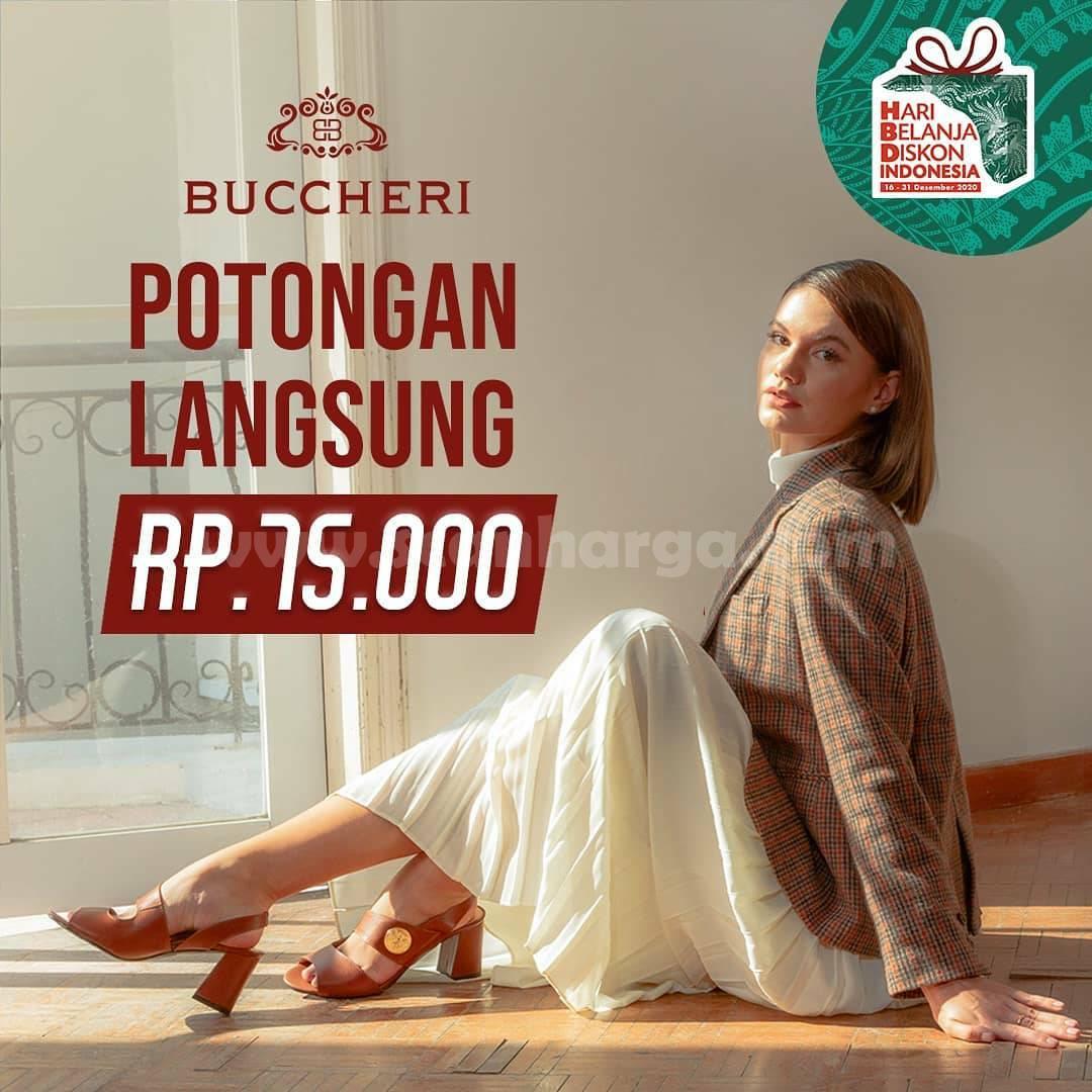 Buccheri Promo Hari Belanja Diskon Indonesia – Potongan Langsung Rp 75.000