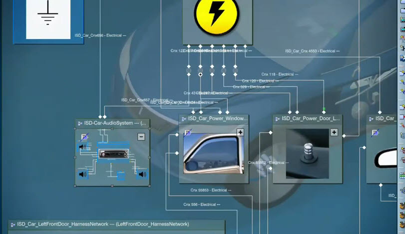 Catia v with the design electrical engineering about electrical