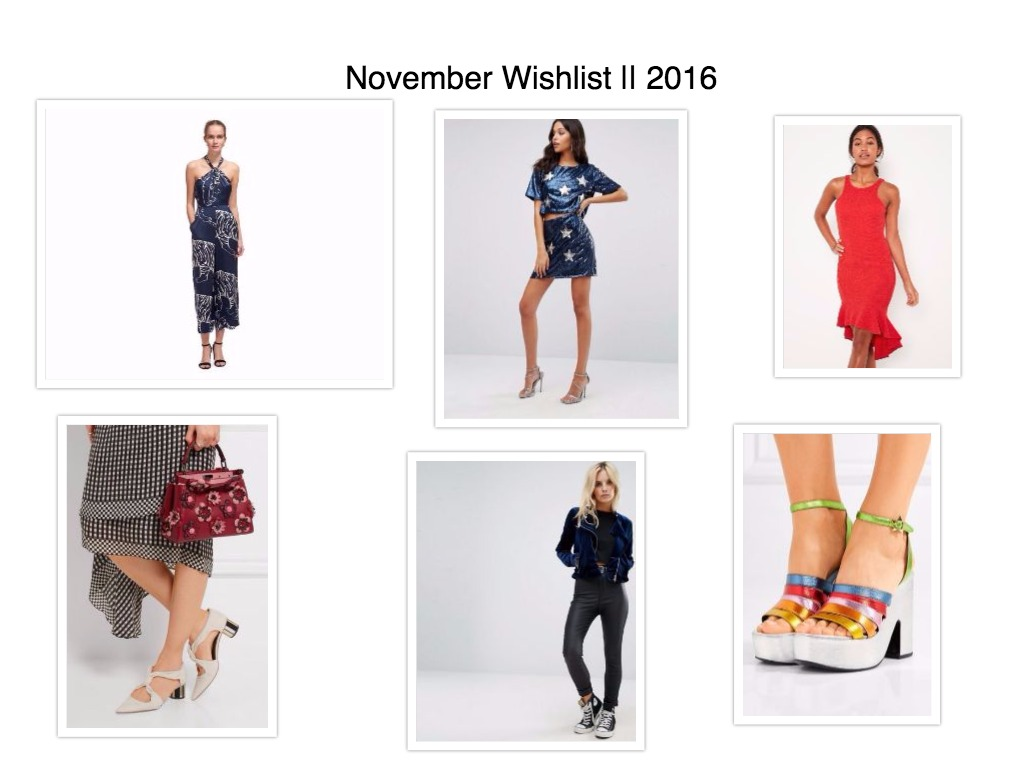 November Wishlist || 2016